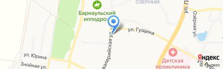 Мастерская по ремонту обуви и одежды на карте Барнаула