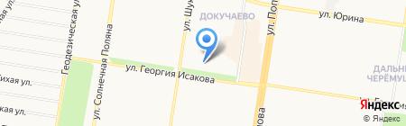 Luxury на карте Барнаула