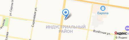 Дарена на карте Барнаула