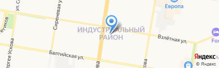 Служба переездов на карте Барнаула