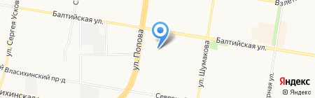 Лифтмонтажсервис на карте Барнаула