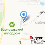 Батон на карте Барнаула
