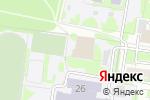 Схема проезда до компании Интуиция в Барнауле