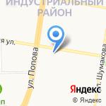 Мясное раздолье на карте Барнаула