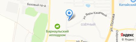 Синьор Помидор на карте Барнаула