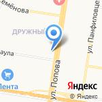 Blush на карте Барнаула