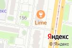 Схема проезда до компании Студия красоты Галины Новиковой в Барнауле