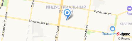 ЖЭУ №37 на карте Барнаула
