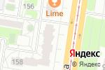 Схема проезда до компании Демидовские Горки в Барнауле