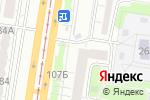 Схема проезда до компании АС-ДЕНТ в Барнауле