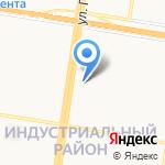 Нотариус Алексеева И.А. на карте Барнаула