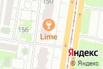 Схема проезда до компании Индиго в Барнауле