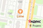 Схема проезда до компании Lime в Барнауле