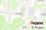 Схема проезда до компании Сеть магазинов мужской одежды в Барнауле