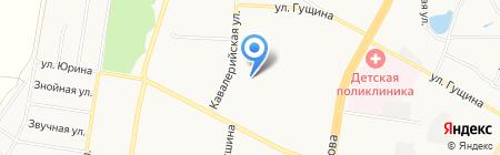 Отдел полиции №8 Управления МВД России по г. Барнаулу на карте Барнаула