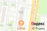 Схема проезда до компании Мясной гастроном в Барнауле