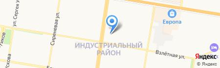 Портнофъ на карте Барнаула