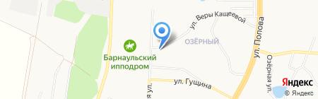 Алт-Строй на карте Барнаула