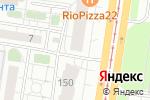 Схема проезда до компании Дружина в Барнауле