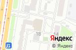 Схема проезда до компании Амигос в Барнауле