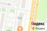 Схема проезда до компании Модерн в Барнауле