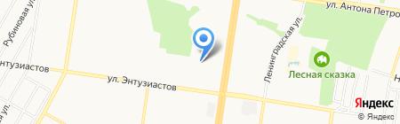 Черная жемчужина на карте Барнаула