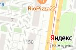 Схема проезда до компании Колосок в Барнауле