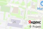 Схема проезда до компании Черная жемчужина в Барнауле