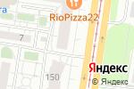 Схема проезда до компании Дисконт-центр двери в Барнауле