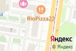 Схема проезда до компании СевентРоуз в Барнауле