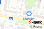 Схема проезда до компании АТС Компьютер сервис в Барнауле