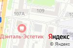 Схема проезда до компании Теплое течение в Барнауле