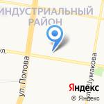 Золотой и Ко на карте Барнаула