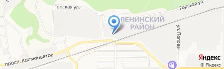 С-Транс на карте Барнаула