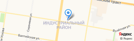 ШАПЬЕ на карте Барнаула