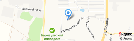 Детский сад №206 на карте Барнаула