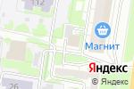 Схема проезда до компании Вет-Плюс в Барнауле