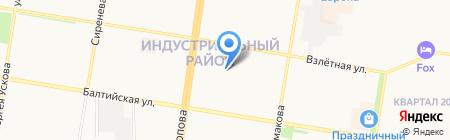 Lady Boss на карте Барнаула