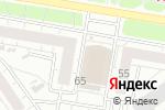 Схема проезда до компании Баклажан в Барнауле