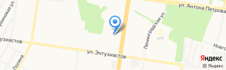 Уют на карте Барнаула