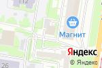 Схема проезда до компании Арбитражный управляющий Воскресенская М.С. в Барнауле