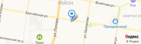 Макс на карте Барнаула