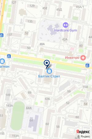 Формула Уюта на карте Барнаула
