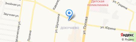 Альфа-мед на карте Барнаула