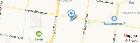 Ванильная симфония на карте Барнаула