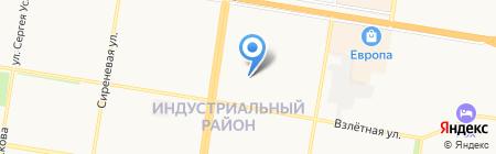 Майя на карте Барнаула