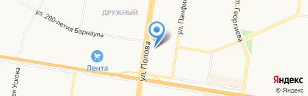 ХмелёФФ на карте Барнаула