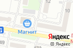 Схема проезда до компании Любимая в Барнауле