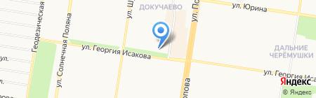 Барнаульский пищевик на карте Барнаула