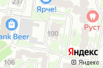Схема проезда до компании АгроХимСибирь в Барнауле